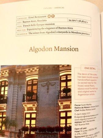 Algodon Mansion - Relais & Chateaux Picture