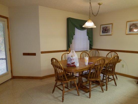 Wyndham Shawnee Village Resort: Dining area