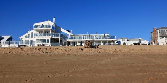 Blue - Inn on the Beach: Hotel vanuit de zee