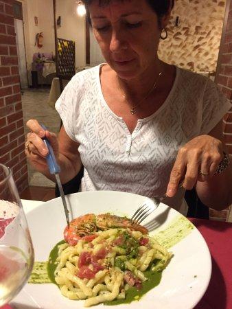 Casarza Ligure, Włochy: pates à la sicilienne