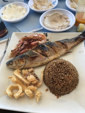 Fish market alexandria el gaish rd restaurant reviews for Alexandria mediterranean cuisine