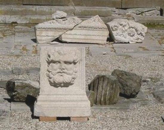 Aquileia, Italie : Ciclo di Giove Ammone e Medusa