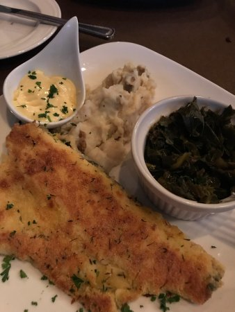 Elkin, NC: Brussels sprouts and mountain trout