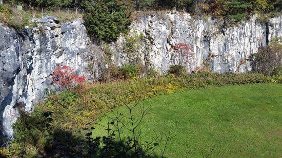 North Adams, MA: Marble wall