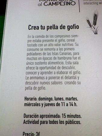 San Bartolome, Spanien: Il laboratorio per preparare il gofio.