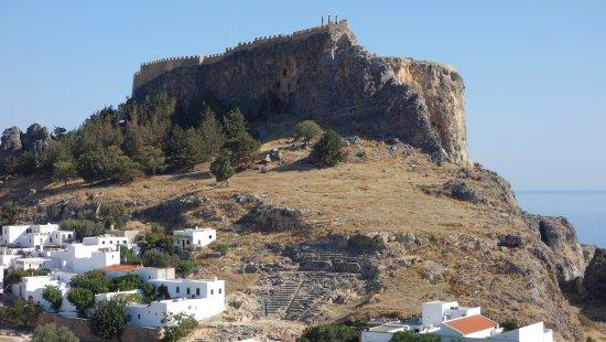 Lindos: Amphitheater