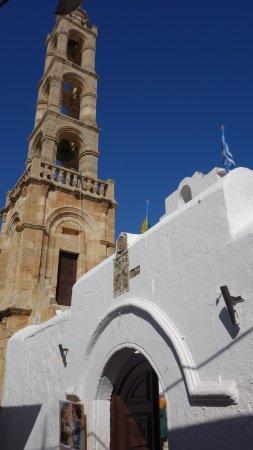 Lindos Kirche