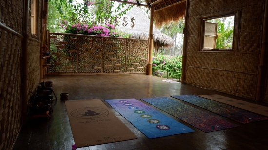Gili Meno, Indonesia: The beautiful space at Be Wellness.