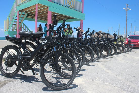 CocoNutz Cruisers: Fleet of New easy to operate Electric Bicycles!