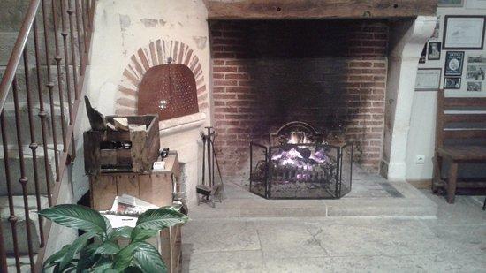 Domaine Maltoff : Le coin cheminée