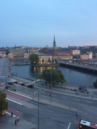 Sheraton Stockholm Hotel: View from 7th Floor Room 729