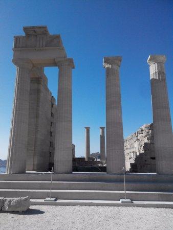 Lindos: Храм Афродиты
