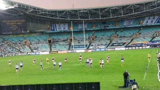 ANZ Stadium : Roosters Vs Bulldaogs (May 2017)