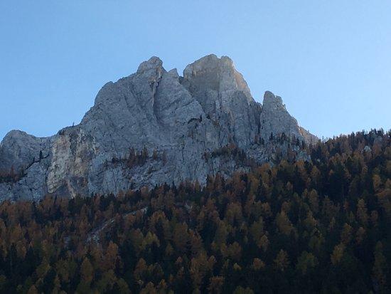 Camping Vidor: Splendido panorama