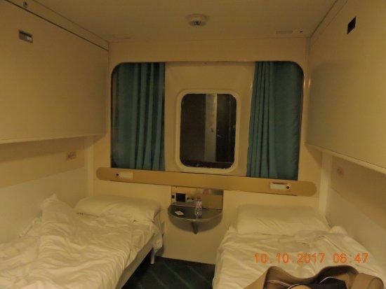 la cabine picture of corsica ferries bastia tripadvisor. Black Bedroom Furniture Sets. Home Design Ideas