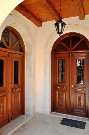 Krousonas, Grekland: accès aux chapelles