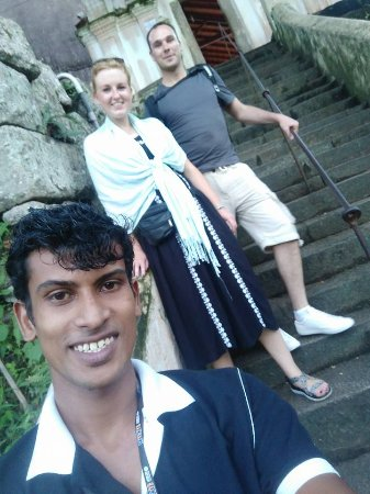 Tangalle, Sri Lanka: My Customers From England..