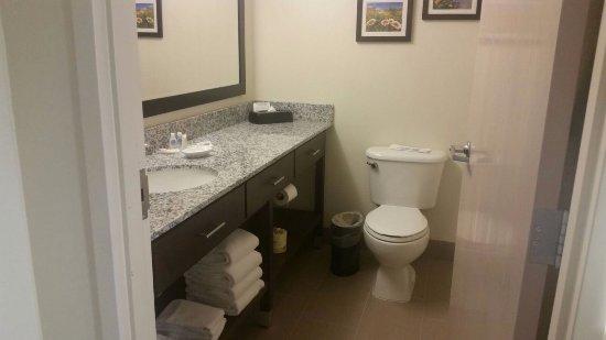 Comfort Suites Maingate East: 2nd bathroom in Deluxe king room