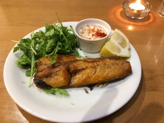 Narberth, UK: Smoked Mackerel starter