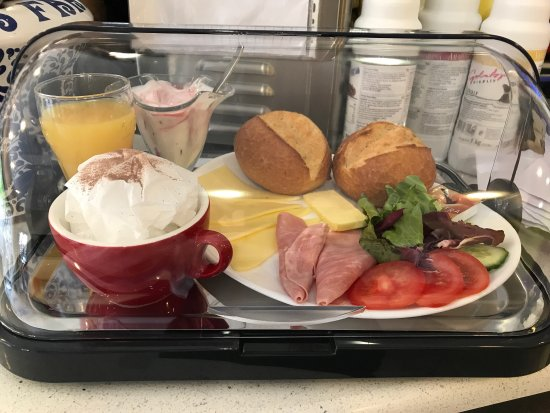 Erkelenz, Tyskland: Eis Café Teza