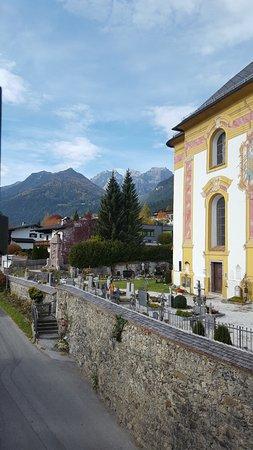 Telfes im Stubai, ออสเตรีย: View from our window