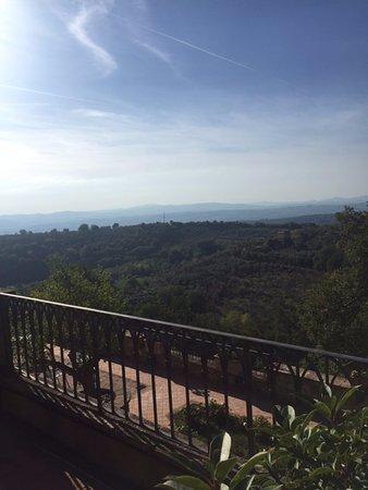 Canalicchio, อิตาลี: The view