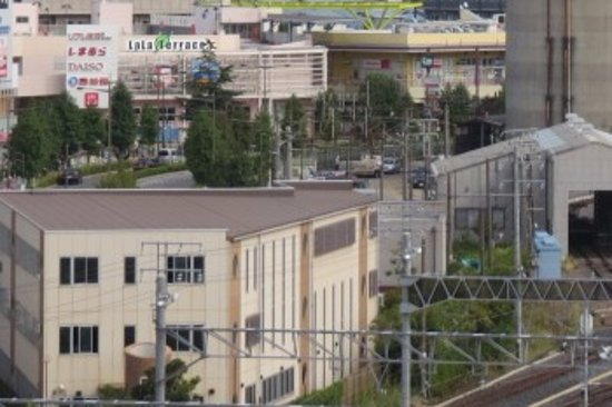 Arakawa, Japão: 奥の方にある建物です