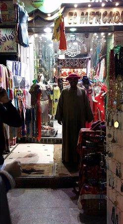 Aswan Market: Gezellig mensen