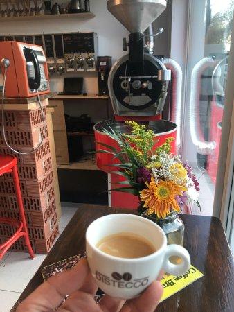 Constanta County, Rumania: Coffee roastery