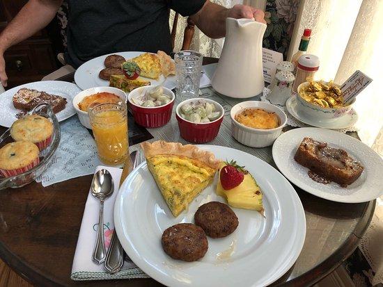 Jefferson, TX: Best breakfast ever