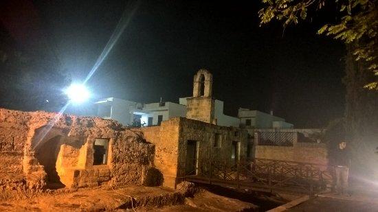 Ortelle, Italia: Chiesa esterno