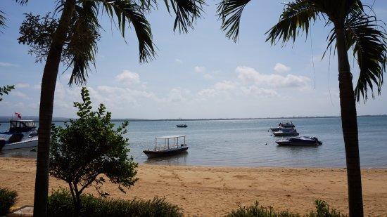 Bali Jet Set Dive and Marine Sports: View of the boats from Jetset base