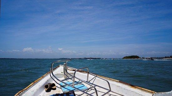 Bali Jet Set Dive and Marine Sports: The boat