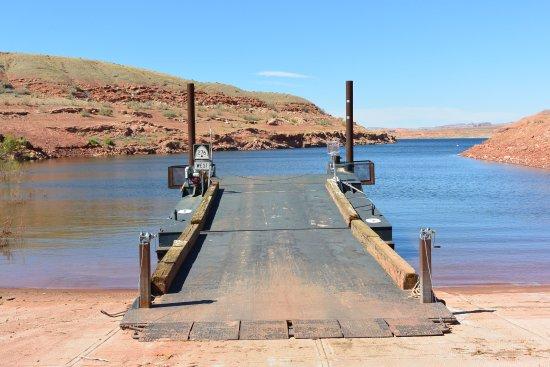 Bullfrog, UT: Waar is de ferry