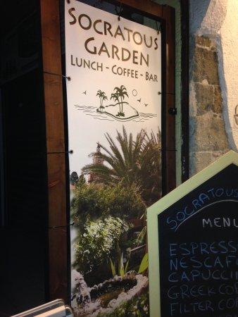 Socratous Garden: Entrance