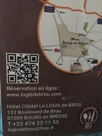 La Carte Photo De Le Logis De Brou Bourg En Bresse
