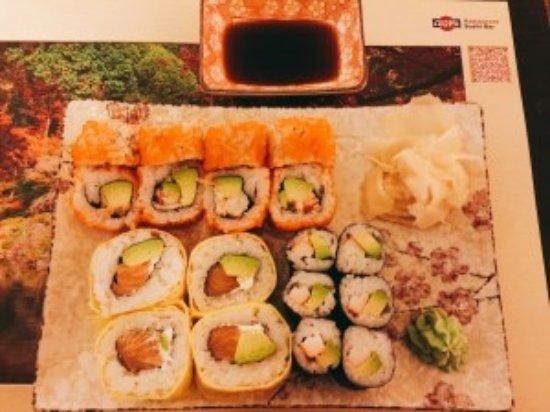 Izumi - Restaurant - Sushi Bar: Sushi platter