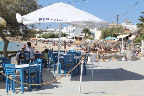 Old Town: bar sur la plage