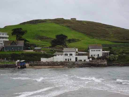 Bigbury-on-Sea, UK: View of Burgh Island