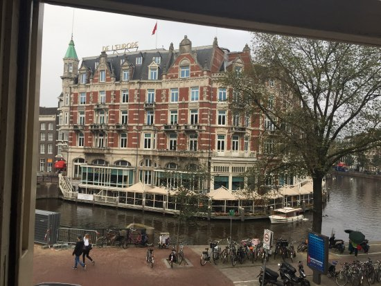 The Picture of our hotel from the restaurant