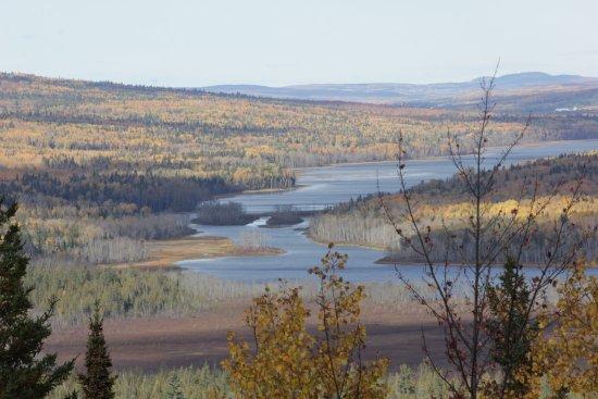 Temiscouata-sur-le-Lac, Kanada: Sentier de la montagne de chert, point de vue