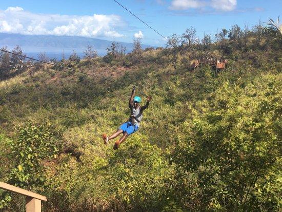 Ka'anapali, Hawái: Coming in!