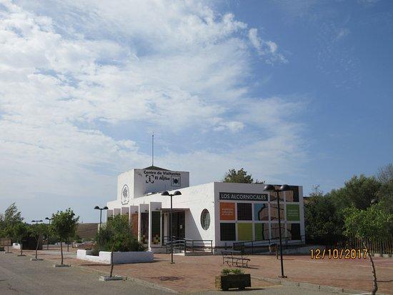 Alcala de los Gazules, Hiszpania: Centro de Visitantes Parque de los Alcornocales