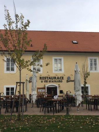 Dobříš, Česká republika: Venkovní posezení