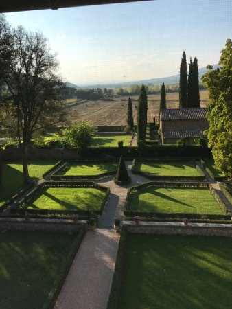 Villa di Piazzano: The view from our room.