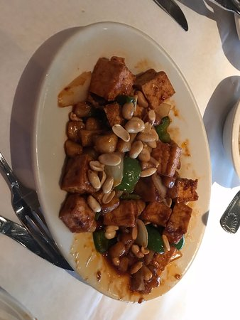 Novi, MI: Kung Pao tofu