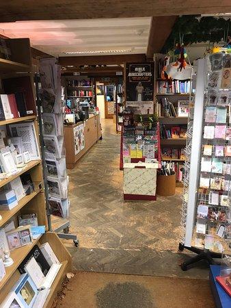 Buckfast Abbey: Inside the bookshop