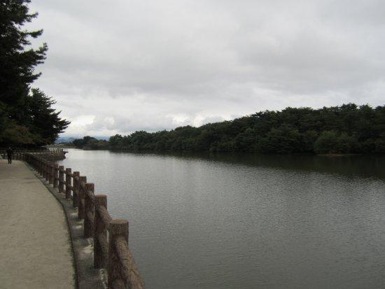 Kasuga, Japan: 大きな池です