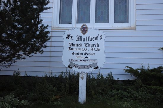 Inverness, Kanada: St Matthews United Church