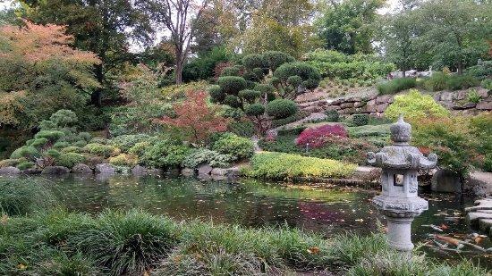 Japanischer Garten (Japanese Garden): 日本庭園 池と庭の様子